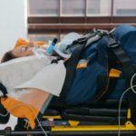 Авиа транспортировка больного с травмой