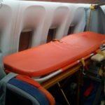 Транспортировка больных в рейсовом самолете